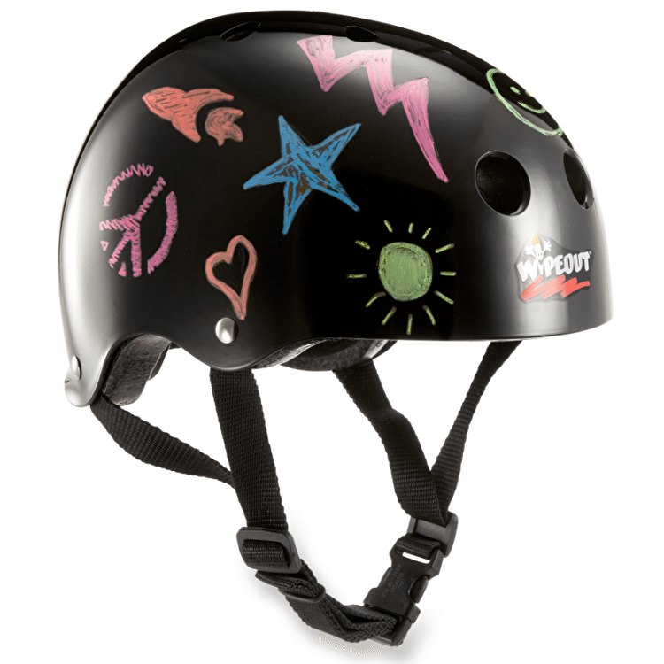 Triple 8 Kids Wipeout Helmet - Black