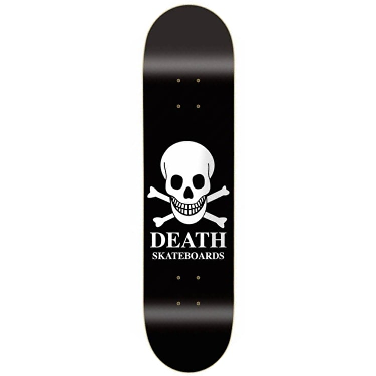 Death Mini OG Skull Skateboard Deck - 7.25""