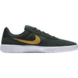 Nike SB Team Classic Skate Shoes - Midnight Green/Yellow Ochre/White