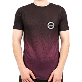 Hype Speckle Fade T Shirt - Berry/Black