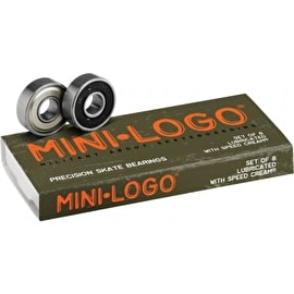 Mini-Logo Bearings (Pack of 8)