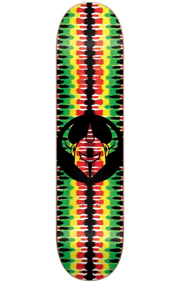 Image of Darkstar Badge Skateboard Deck - Rasta 7.75""
