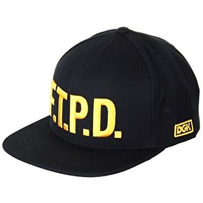 DGK F The Police Cap - Black