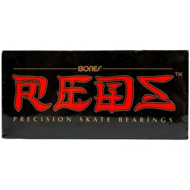 Bones Reds Bearings - 8mm (Pack of 8)