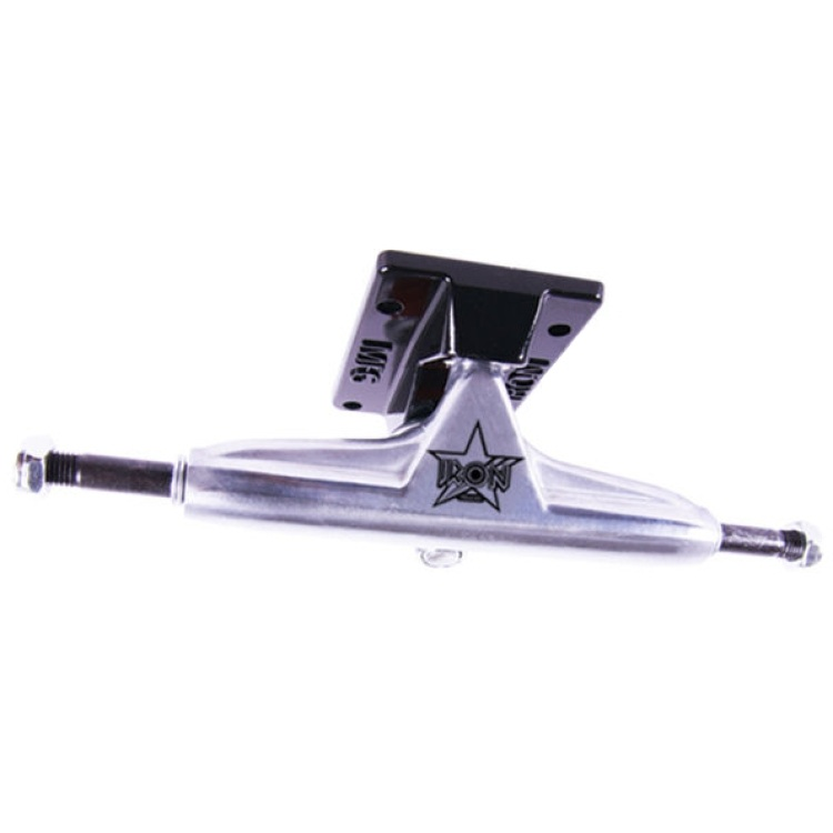 "Iron Skateboard Trucks - Low Silver 5.0"" (Pair)"