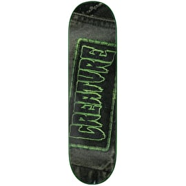 Creature Patched Skateboard Deck - 8.375
