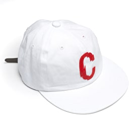 Chrystie CSC C Logo Strap Hat - White/Red