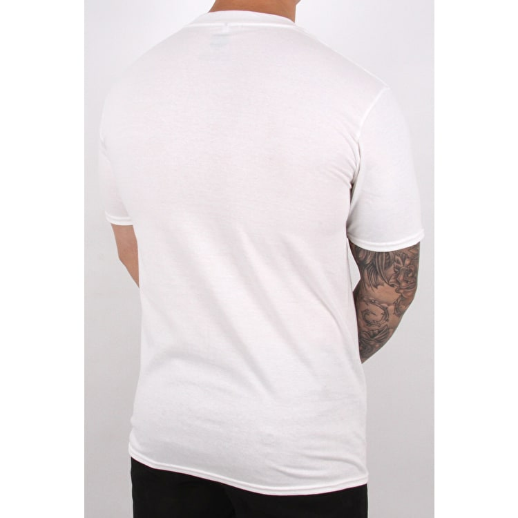 SkateHut Skate All Day T Shirt - White