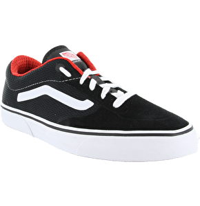 Vans Rowley Pro Lite Shoes - Black/White