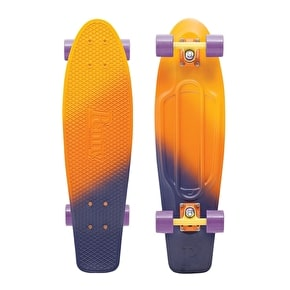 Penny Fades Nickel Complete Skateboard - Yellow/Orange/Purple 27