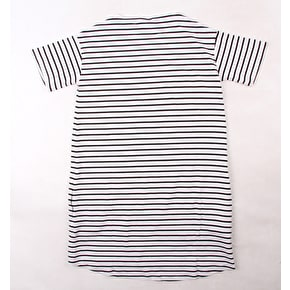 Santa Cruz Breton Opus Dot Dress T-Shirt - White