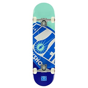 Alien Workshop Complete Skateboard - OG Fuel Co. Blue 8