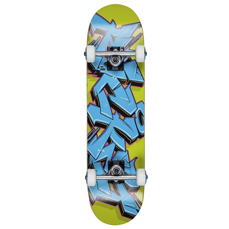 Rocket Mini Skateboard - Graffiti Series Blue/Green 7.5""