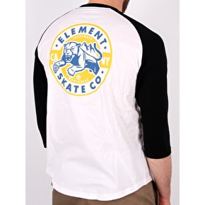Element Strike Raglan T-Shirt - Flint Black