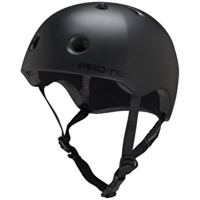 B-Stock Pro-Tec Street Lite Helmet- Satin Black - Medium (Box Damage)