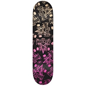 Real x Thrasher Walker Party Goat Skateboard Deck - 8.06