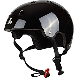 Triple 8 Brainsaver Dual Certified Helmet - Black Gloss