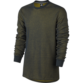 Nike SB Long Sleeve Thermal T-Shirt - Seaweed/Peat Moss