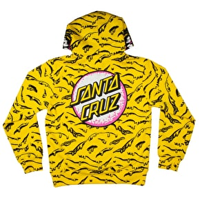 Santa Cruz Rob Face Hoodie - Yellow