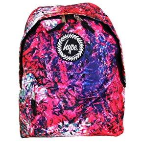 Hype Foil Water Colour Backpack
