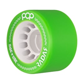 Radar POP 59mm Roller Derby Wheels - Green 95A (Pack of 4)