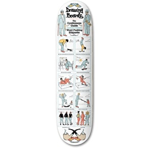 Drawing Boards A Gentleman's Guide Skateboard Deck - 8