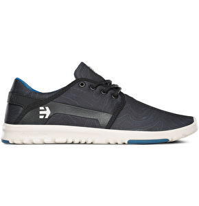 Etnies Scout Shoes - Black/Print