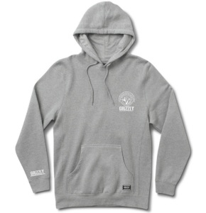 Grizzly Frost Peak Hoodie - Heather