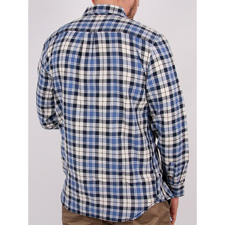 Vans Sycamore Flannel Shirt - Marshmallow Blue