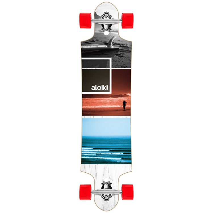 "Aloiki Exposition 39.4"" Drop Through Complete Longboard"