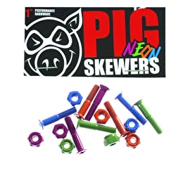 Pig Skateboard Bolts - Neon 1