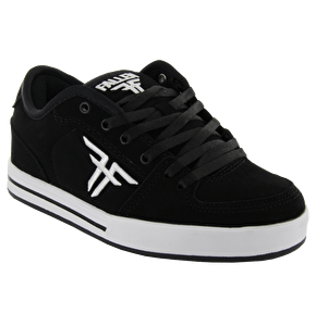 Fallen Kids Patriot Skate Shoes- Black/Black/White