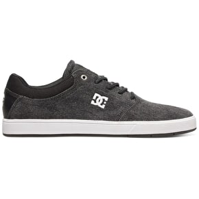 DC Crisis TX SE Skate Shoes - Black Acid