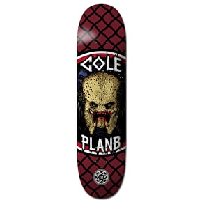 Plan B Cole Savages BLK ICE Skateboard Deck - 8.5