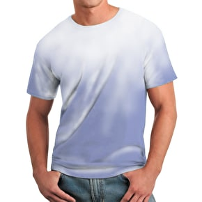 Global Technacolour T-Shirt - Blue into White