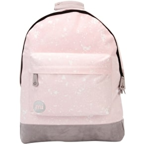 B-Stock Mi-Pac Splattered Backpack - Pink (Small Mark)