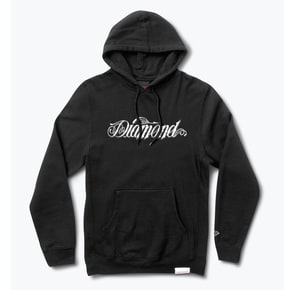 Diamond Supply Co Giant Script Hoodie - Black