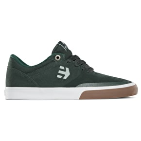 Etnies Marana Vulc Skate Shoes - Green/White/Gum