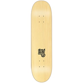 About Team Series Target Skateboard Deck - Fluo Yellow 8