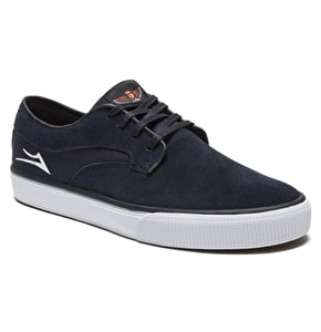 Lakai Riley Hawk Shoes - Midnight/Suede