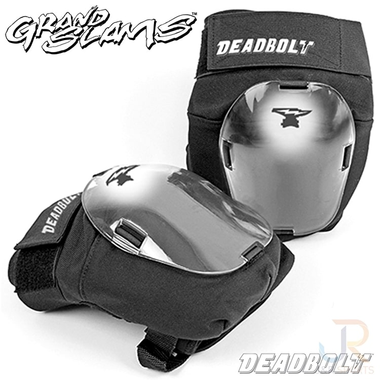 Deadbolt Grandslam Knee Pads-Black