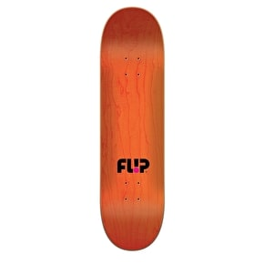 Flip Odyssey Faded Skateboard Deck - Black 8.25
