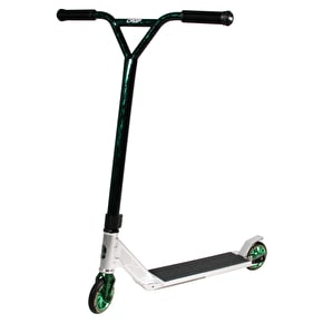 Phase Two x Crisp Custom Scooter - Silver/Lazer Green