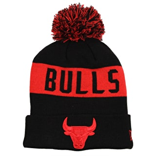 New Era NBA Team Tonal Knit Beanie - Chicago Bulls