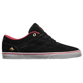 Emerica Herman G6 Vulc Skate Shoes - Black/Red/Grey