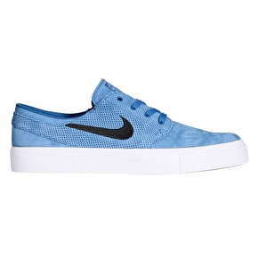 Nike SB Zoom Stefan Janoski HT Skate Shoes - Industrial Blue/Black