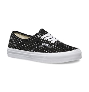 Vans Authentic Slim Shoes - (Micro Hearts) Black