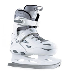 SFR Ice Skates - Eclipse White/Silver