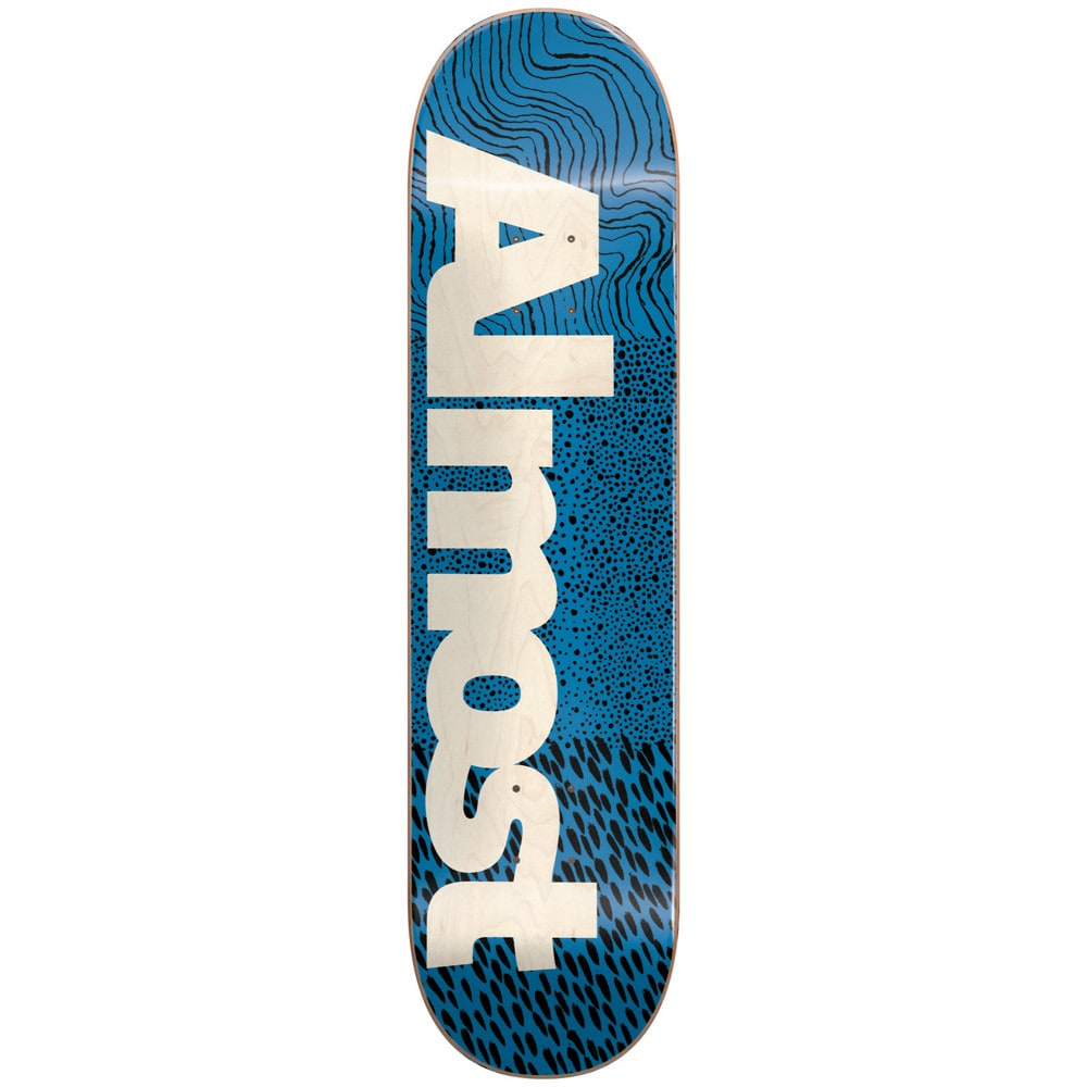 almost ct logo skateboard deck 775quot almost skateboards