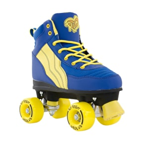 B-Stock Rio Roller Pure Quad Skates - Blue/Yellow - UK 2 (Box Damage)